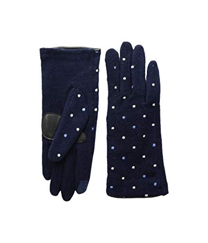 - Echo Design Women's Dot Dot Gloves Echo Navy SM