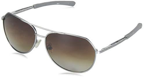 Gargoyles Performance Eyewear Victor Polarized Safety Glasses, Matte Gun Frame/Brown Gradient Lenses