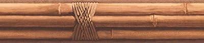 "Bamboo Sticks Wallpaper Border 4"" x 15' FR4946B"