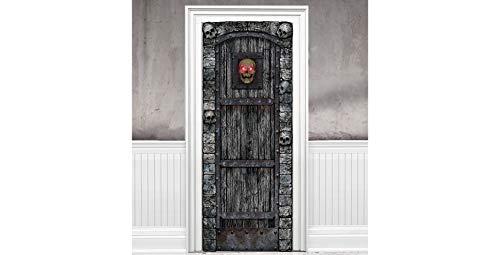 SEASONAL VISIONS INT'L LTD Light-Up Skull Door Cover