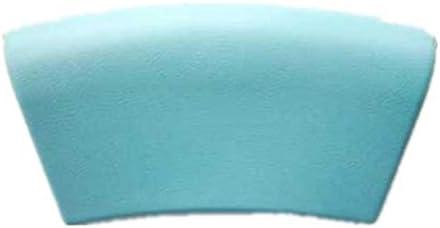 YQZQ バスタブ枕、防水頭と首のサポート強力ノンスリップサクションカップ浴室の浴槽とジャグジースパファミリーバース枕のために