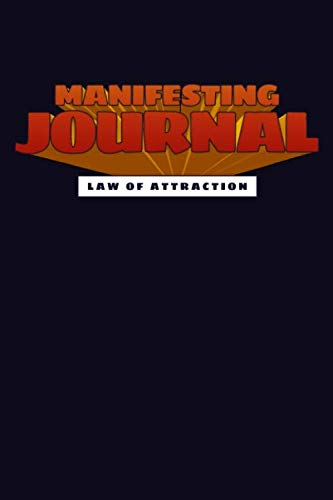 MANIFESTING JOURNAL: Manifestation Planner Journal Notebook. 80 BLANK pages for sketching doodling vision board making 80 journal paper pages for ... your desires dreams. Space Butterfly Design (Making A Vision Board Law Of Attraction)