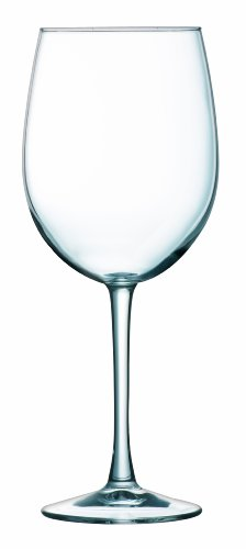 Arc International Luminarc Cachet White Wine Glass, 16-Ounce, Set of (Cachet White Wine Glass)