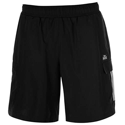Lonsdale Mens Cargo Shorts Woven Pants Trousers Bottoms