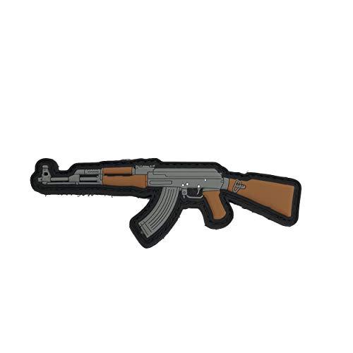 TACOPSGEAR AK-47–Rubber–PVC Morale Patch