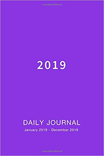 amazon daily journal 2019 weekly and monthly calendar and planner