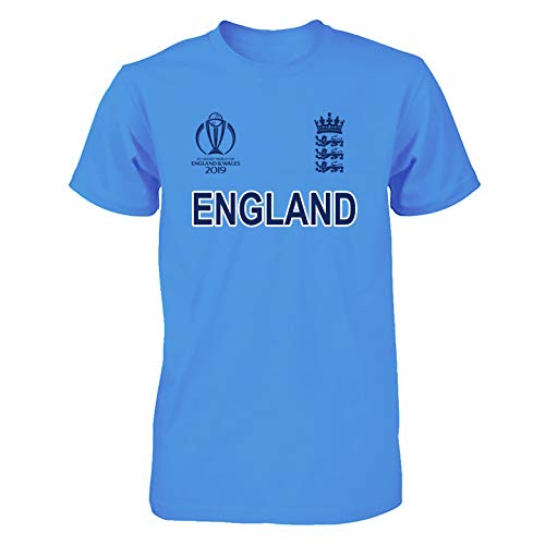Men Women Cricket World Cup 2019 Shirt All Teams India Pakistan Australia South Africa England BANGLADES Newzealand Fan Supporters T Shirt 100% Cotton (England, Medium) (Icc Cricket World Cup 2011 Final Match)