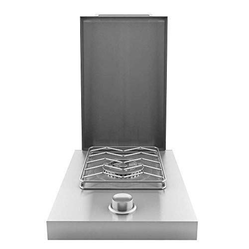 Stainless Steel Single Drop-In Side Burner - LP