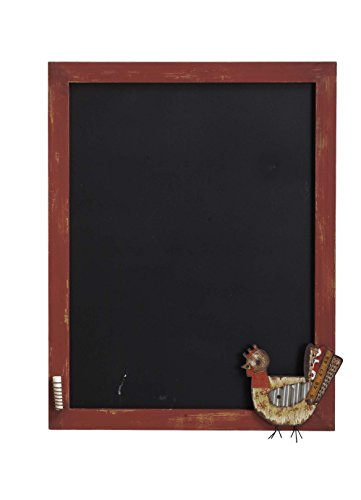 Transpac Lost and Found Rooster Multimedia Chalkboard Rooster Chalkboard