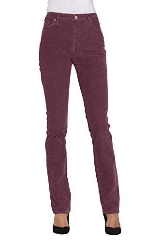 Liso Pantalones Es Jeans Color Carrera Mujer 44 Para Terciopelo qZSxCzP