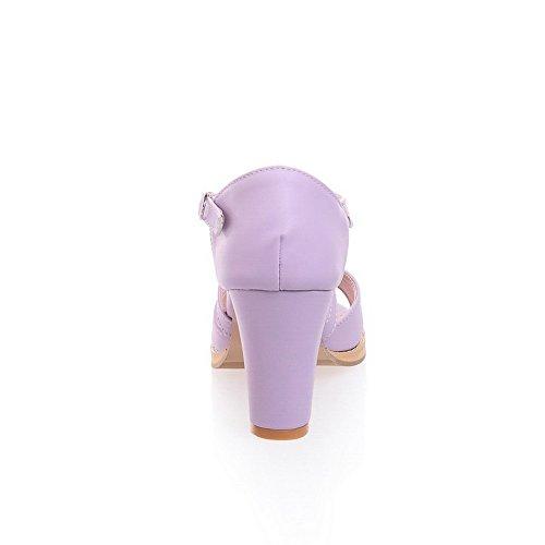 Adee , Sandales pour femme - Violet - violet, 38 EU