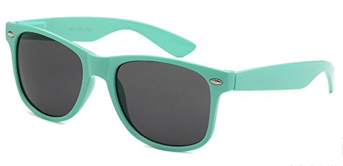 Sunglasses Classic 80's Vintage Style Design (Teal)]()
