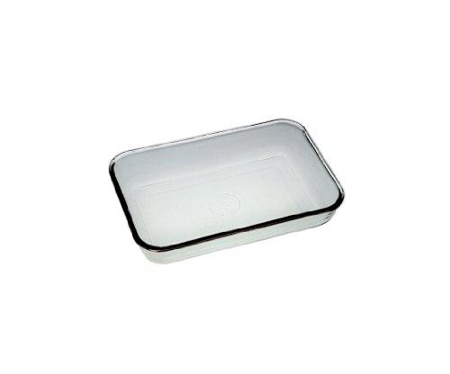 Corning Pyrex Borosilicate Glass Heavy Duty Drying Dish, Reusable, 201mm L x 201mm W x 55mm H (Case of - 201 55