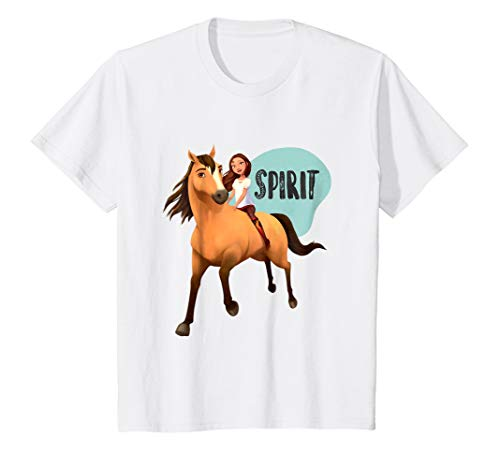 Kids DreamWorks Spirit Riding Free - Lucky & Spirit - Shirts Spirit