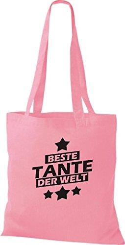 Del Tela Shirtstown Mundo Tante Bolsa Mejor Rosa De zUX4fwxq