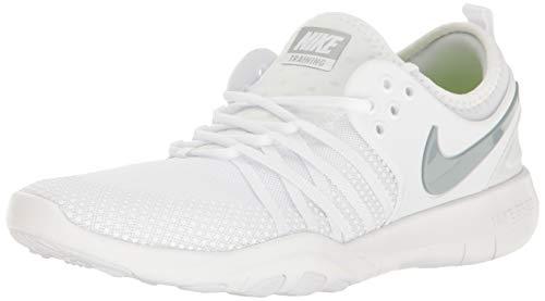 Nike Women's WMNS Free Tr 7 Trainers, White (White/Pure Platinum/Black/White), 6 UK (40 EU)