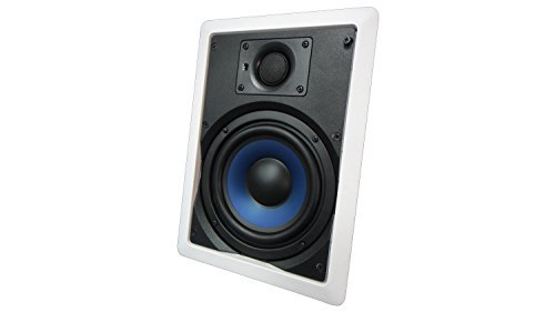 652W Silver Ticket In-Wall In-Ceiling Speaker with Pivoting Tweeter (6.5 Inch in-wall) [並行輸入品] B07CRZJYWV
