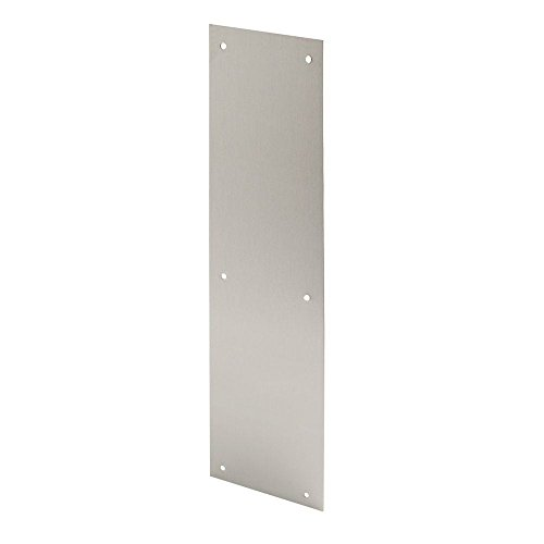 Ives Commercial 044074512465 Brass Push Plate by Ives Commercial