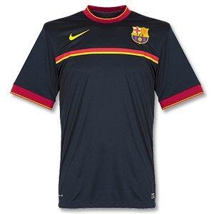Barcelona Navy Pre Match Top 2011-12