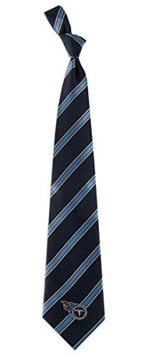 NFL Tennessee Titans Men's Woven Polyester Necktie, One Size, Multicolor