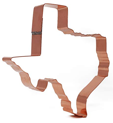 - Texas ~ Large State of Texas Copper Cookie Cutter
