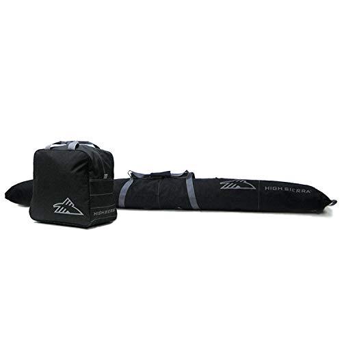 High Sierra Ski Bag and Boot Equipment Travel Bag Combo