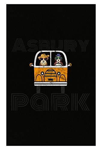 - Kellyww Asbury Park Jersey Van Car Shore Surf Design Ocean New Jersey - Poster
