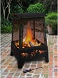 Haywood Fireplace - Wildlife - Black