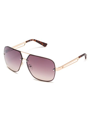 GUESS Factory Men's Rimless Navigator - Rimless Glasses Guess