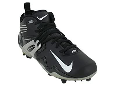 20b186e8bb8 Nike Air Zoom Apocalypse IV Men s Molded Football Cleats (11) Black White