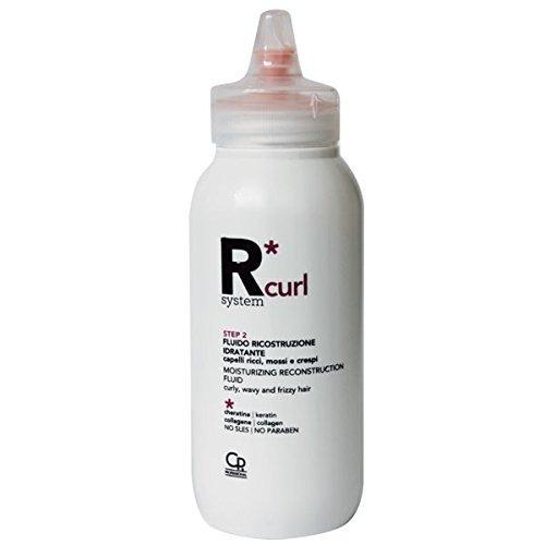 R*System Curl - Fluido Ricostruzione Ricci - Trattamento Ristrutturante Ultra-Idratante per Capelli Ricci, Mossi e Crespi - 150 ml Capello Point