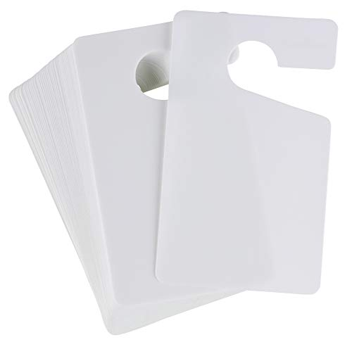 Parking Permit Hang Tag - 50-Pack Parking Passes, Rear View Mirror Hang Tags, for Employees, Tenants, Students, Business, Office, Apartment, Car Lots, for Car and Other Vehicles, White, 3 x 5 Inches from Juvale