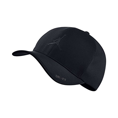 Nike Mens Air Jordan Classic 99 Fitted dad Hat Black/Black 801767-010