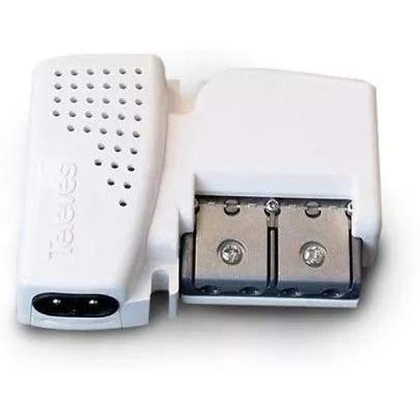 Televes 560542 - Amplificador vivienda 2s 47-790mhz g10/20db ...