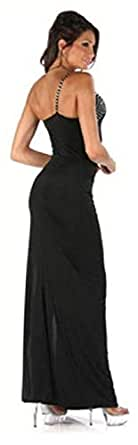 Women Night Out Close-fitting Back Of The Hollow Out Long Party Dress(21110)