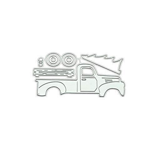 Doober Truck Cutting Die Embossing Dies Carbon Steel Die Cuts Stencils for Scrapbooking Card Making Supplies