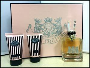 Juicy couture 3 piece gift set for women
