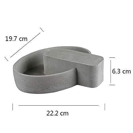 Molde de silicona para cemento de Nicole, forma cuadrada, para hormigón, maceta, bonsái, herramienta para macetas: Amazon.es: Juguetes y juegos