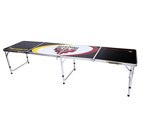 Adjustable Portable Beer Pong Gaming Tables Lightweight Durable With Ebook by MRT SUPPLY