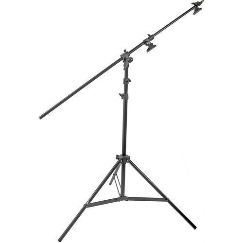 Convertible Boom Stand - Impact Multiboom Light Stand and Reflector Holder - 13' (4m)