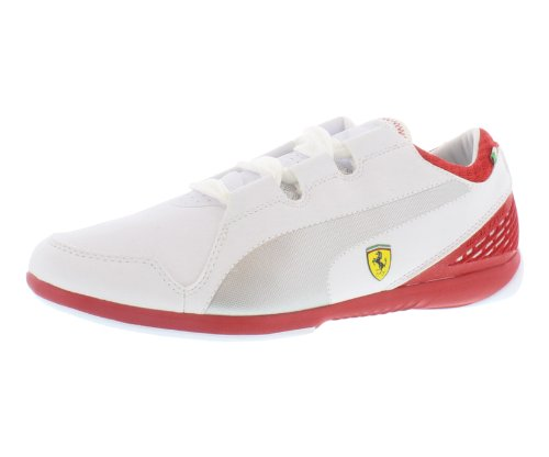 PUMA Men's Valorosso Lo SF Webcage Fast Shoes, White/Red, 11 M US