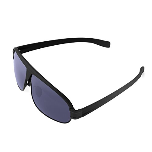 Sunglasses LOPEZ Multifunction Polarized Sports Style Sunglasses for Shooting Baseball Cycling Fishing Golf and Night Driving with Aluminum Material For Man and Women UV400- Black - Work Polarised Sunglasses How