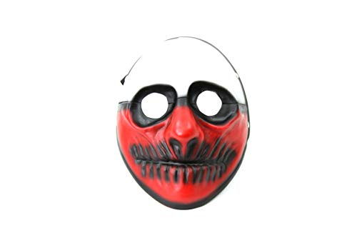 Halloween Payday 2 (Payday 2 Themed Costume Cosplay Mask (Payday 2 Wolf)