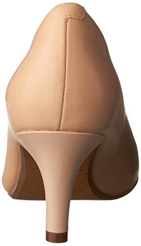 Clarks Womens Heavenly Heart Dress Pump Nude Leather