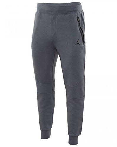 Nike Men's Jordan Lite Fleece Tech Jogger Pants XX-Large Cool Grey by Jordan