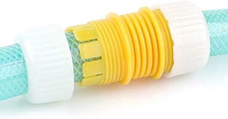 1//2/'/' Adapter Garden Water Hose Connector Pipe Mender Leaking Joiner Repair Y9Z7