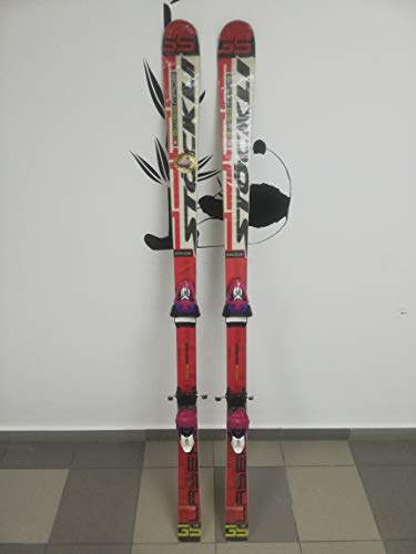 Stockli Laser GS FIS 168 cm Ski + Tyrolia Race (Quicksilver/ZAG) 14 DIN Bindings ()