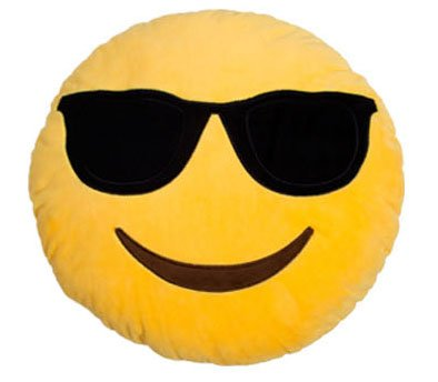 Stuffed Pillow Emoticon Variations Sunglasses product image