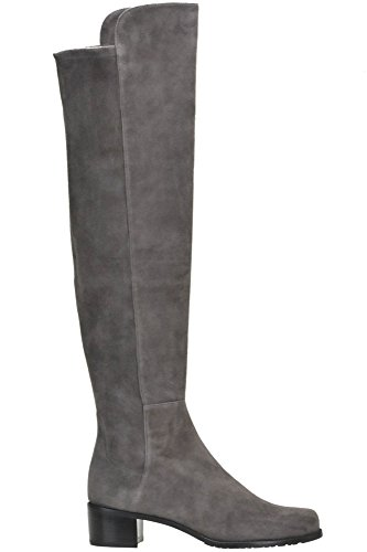 sale websites clearance brand new unisex Stuart Weitzman Women's MCGLCAS04090I Grey Suede Boots outlet store cheap online sale best store to get EQMFK1G2l