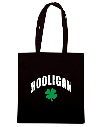 Nera Shirt IRISH Shopper HOOLIGAN TIR0103 Speed Borsa dtwqtzP